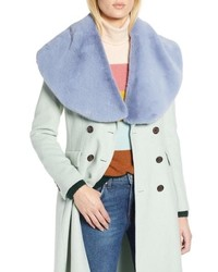 Halogen X Atlantic Pacific Faux Fur Wrap