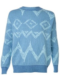 Baja east ikat graffiti crew sweater medium 121261