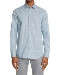 Emporio Armani Geo Stretch Dress Shirt