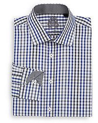 English Laundry Regular Fit Gingham Dress Shirt