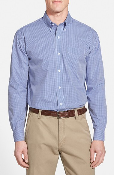 Cutter & Buck Epic Easy Care Classic Fit Wrinkle Free Gingham Sport Shirt Free Shipping Under 50 Dollars NLfO4SJC
