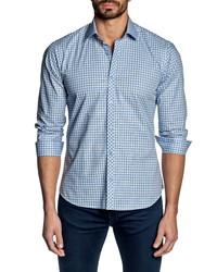 Jared Lang Check Button Up Shirt