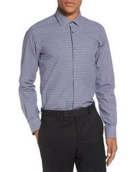 Gingham check sport shirt medium 816367