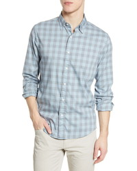 Faherty Movet Check Button Up Shirt