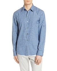 Zachary Prell Plaid Button Up Shirt