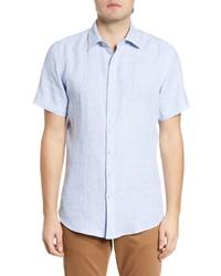 Rodd & Gunn Bidwells Sport Fit Gingham Short Sleeve Button Up Shirt