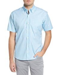 Peter Millar Garrett Regular Fit Check Print Shirt
