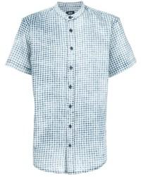 Publish Shortsleeved Gingham Check Shirt
