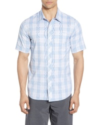 TravisMathew Round Trip Regular Fit Woven Shirt