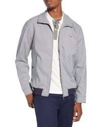 Lacoste Check Print Zip Jacket