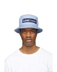 Golden Goose Blue Love Dealer Pacey Hat