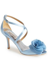 Light blue heeled sandals original 2920101