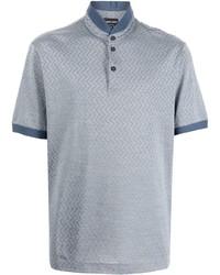 Giorgio Armani Stand Up Collar Polo Shirt