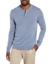 Bonobos Slim Fit Cashmere Henley Sweater