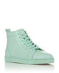san francisco d0fa0 b0c52 Christian Louboutin Louis Flat Sneakers Blue, $895 | Barneys ...