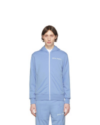 Palm Angels Blue Classic Track Hoodie