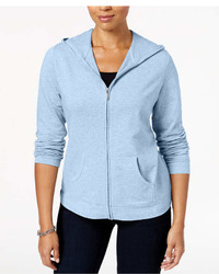 Karen Scott Petite Knit Hoodie Jacket Created For Macys