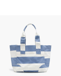 J.Crew Striped Vintage Canvas Tote