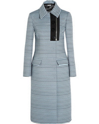 Miu Miu Striped Jacquard Coat