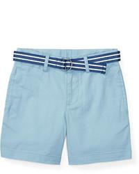 Ralph Lauren Boys 2 7 Belted Stretch Cotton Short