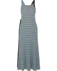 Jil Sander Ribbed Cotton Maxi Dress