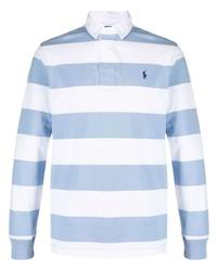 Polo Ralph Lauren Stripe Pattern Polo Shirt