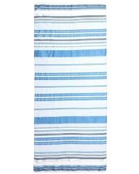 Armani Collezioni Multi Stripe Silk Linen Scarf