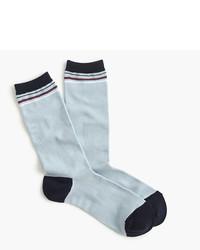 J.Crew Trouser Socks In Vintage Stripe