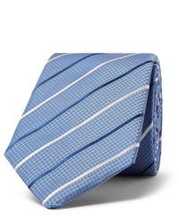 Hugo Boss 7cm Striped Silk Jacquard Tie