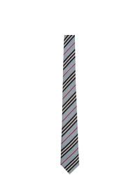Burberry Blue Check Manston Tie
