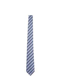 Fendi Blue Silk Forever Tie