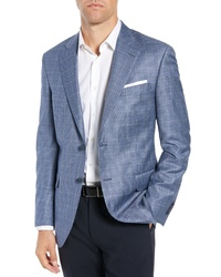 Peter Millar Classic Fit Houndstooth Sport Coat