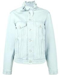 Balenciaga Scarf Denim Jacket