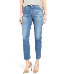 AG Jeans Ag The Isabelle Crop Straight Leg Jeans