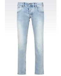 Armani Jeans Slim Fit Medium Light Wash Jeans