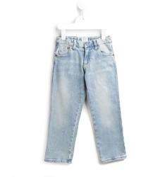 Armani Junior Faded Denim Jeans