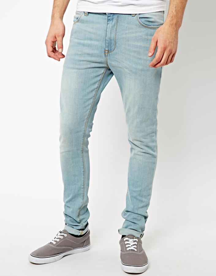 Guys in Light Blue Jeans Light Blue Jeans Asos