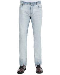 Maison Martin Margiela Bleach Wash Denim Jeans Light Blue
