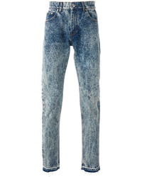 MSGM Bleached Straight Jeans