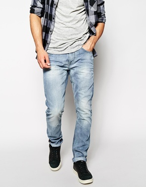 Blend of America Blend Jeans Twister Slim Fit Vintage Light Wash ...