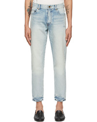 Saint Laurent Blue Carrot Fit Jeans