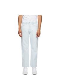 Maison Margiela Blue Denim Super Bleach 80s Jeans