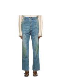 Gucci Blue Eco Wash Maison De Lamour Firenze Organic Jeans