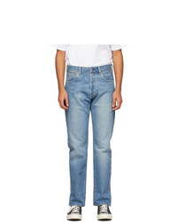 Levis Blue Faded 501 93 Jeans