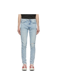 Rag and Bone Blue Fit 1 Hole Jeans