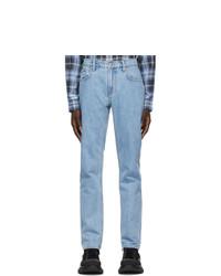 Burberry Blue Globestar Jeans