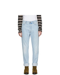 Balmain Blue High Waisted Jeans