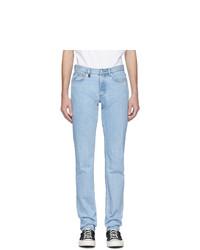 A.P.C. Blue Jjjjound Edition Petit Standard Jeans