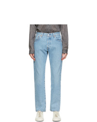 Levis Made and Crafted Blue Light Wash 501 93 Straight Jeans