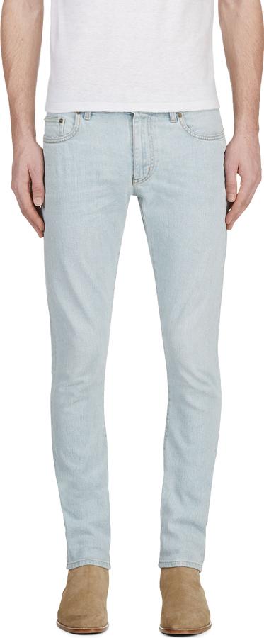 slim jeans - Blue Saint Laurent JqQbplb